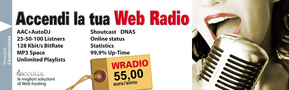 Crea web radio